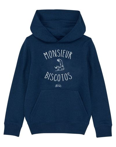 "Sweat capuche ""Monsieur Biscotto"""