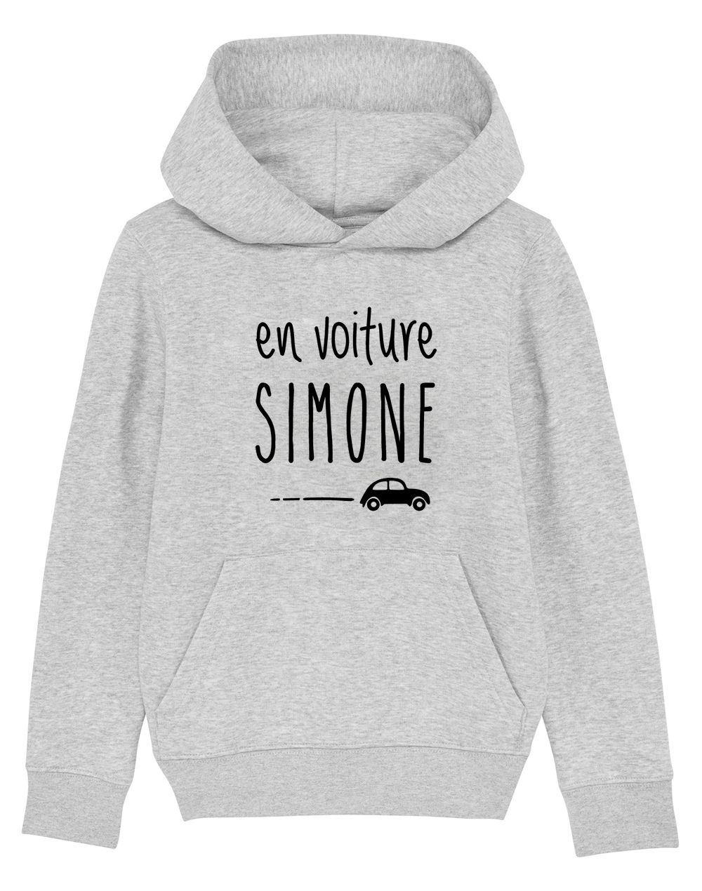 "Sweat capuche ""Voiture simone"""
