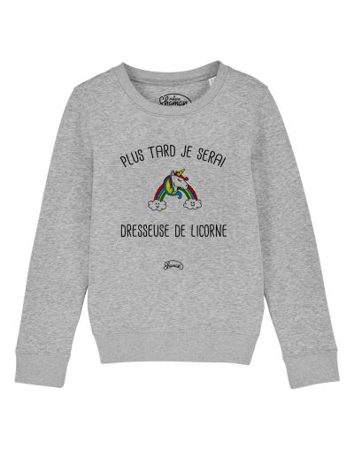 "Sweat ""Dresseuse de licornes"""