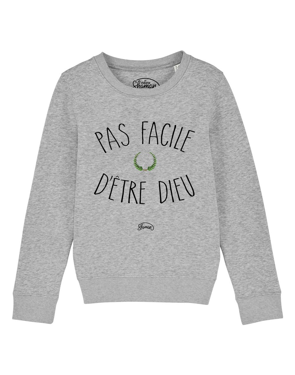 "Sweat ""Pas facile dieu"""
