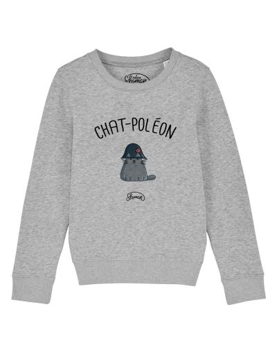 "Sweat ""Chat-Poléon"""