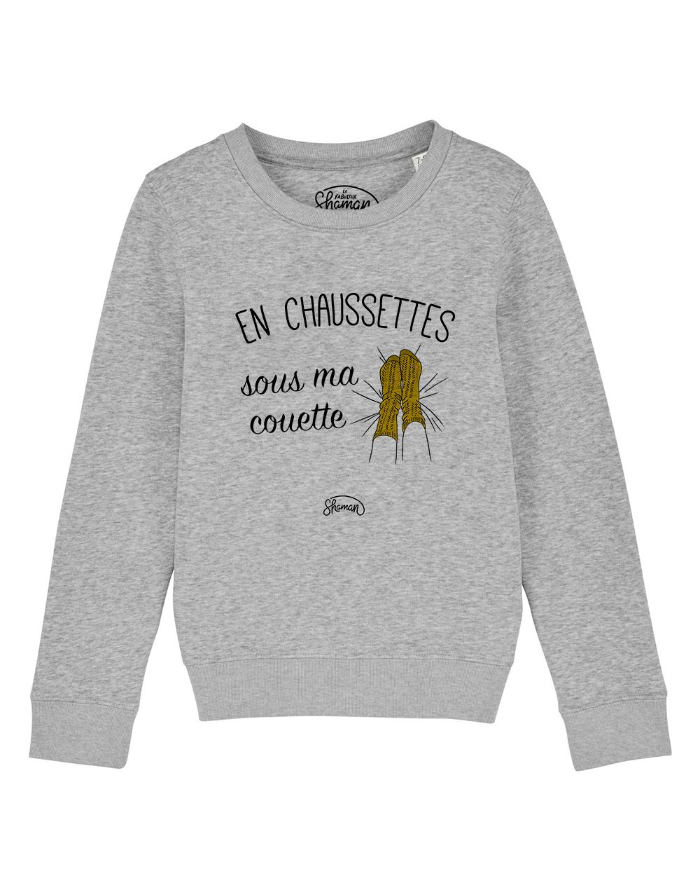 """Sweat """"Chaussette couette"""""""