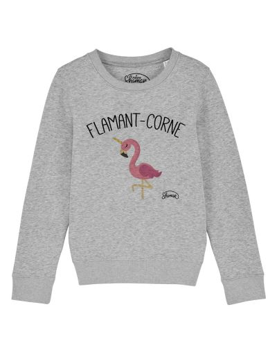 "Sweat ""Flamant corne"""