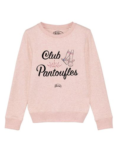 "Sweat ""Club pantoufles"""