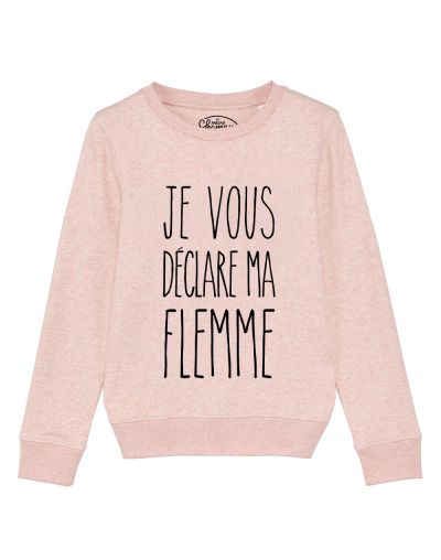 "sweat ""déclare flemme"""