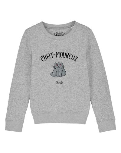"Sweat ""Chat-moureux"""