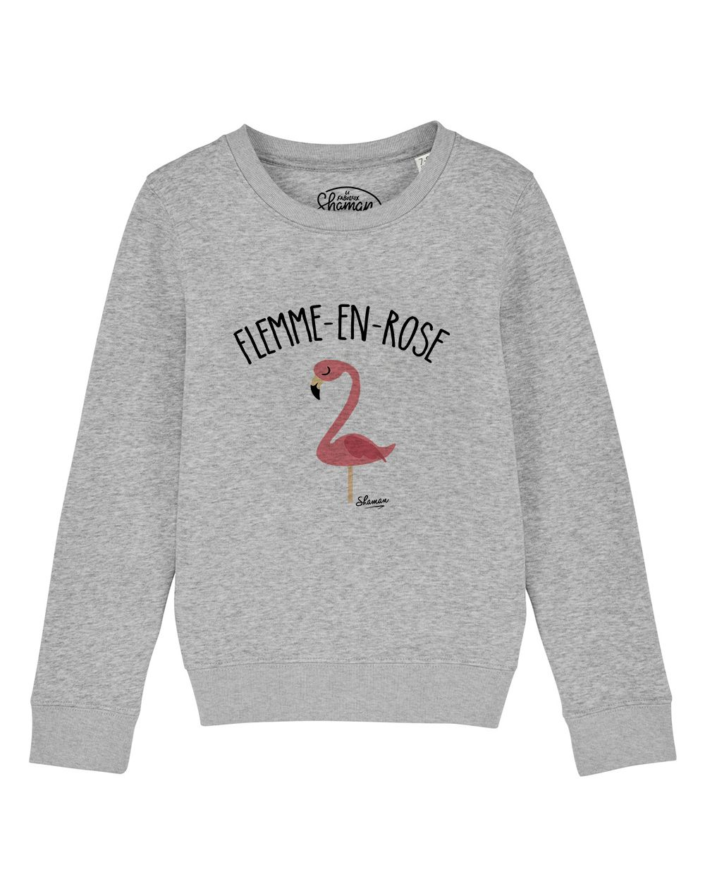 "sweat ""flemme en rose"""