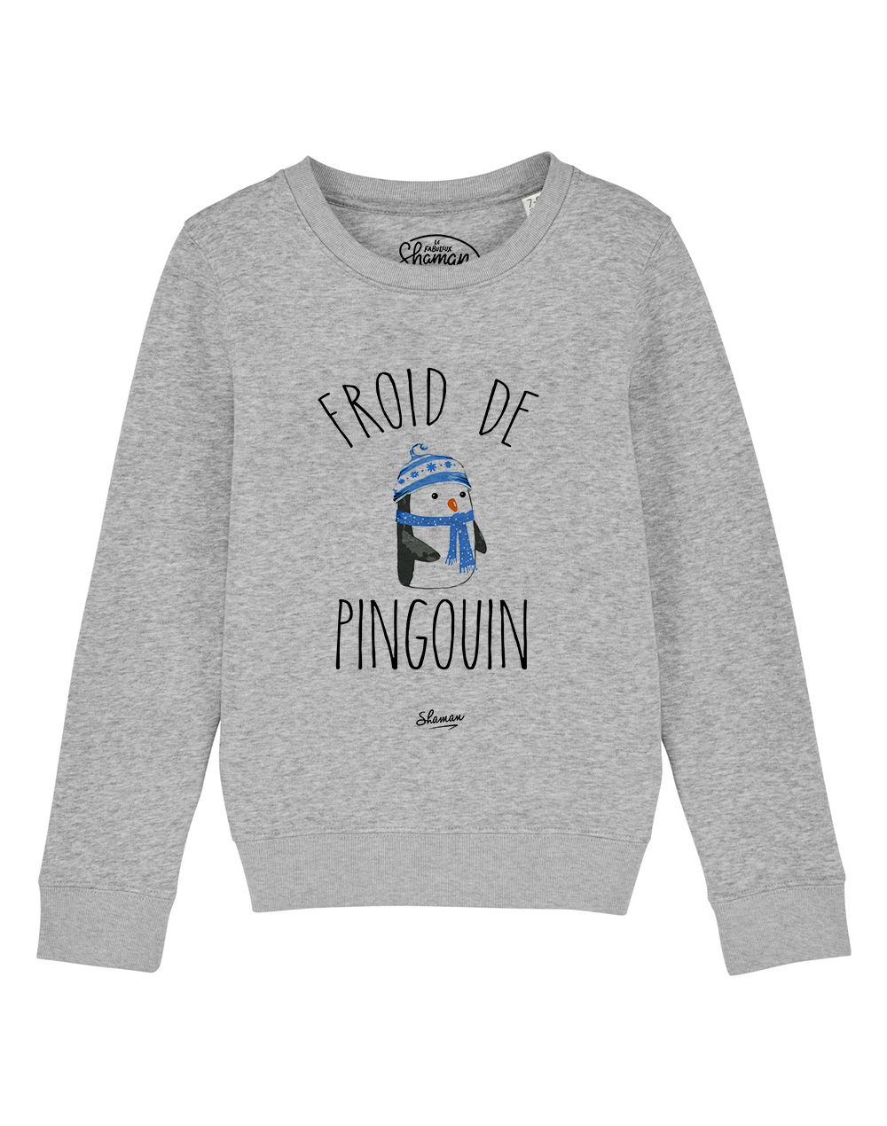 "sweat ""froid de pingouin"""