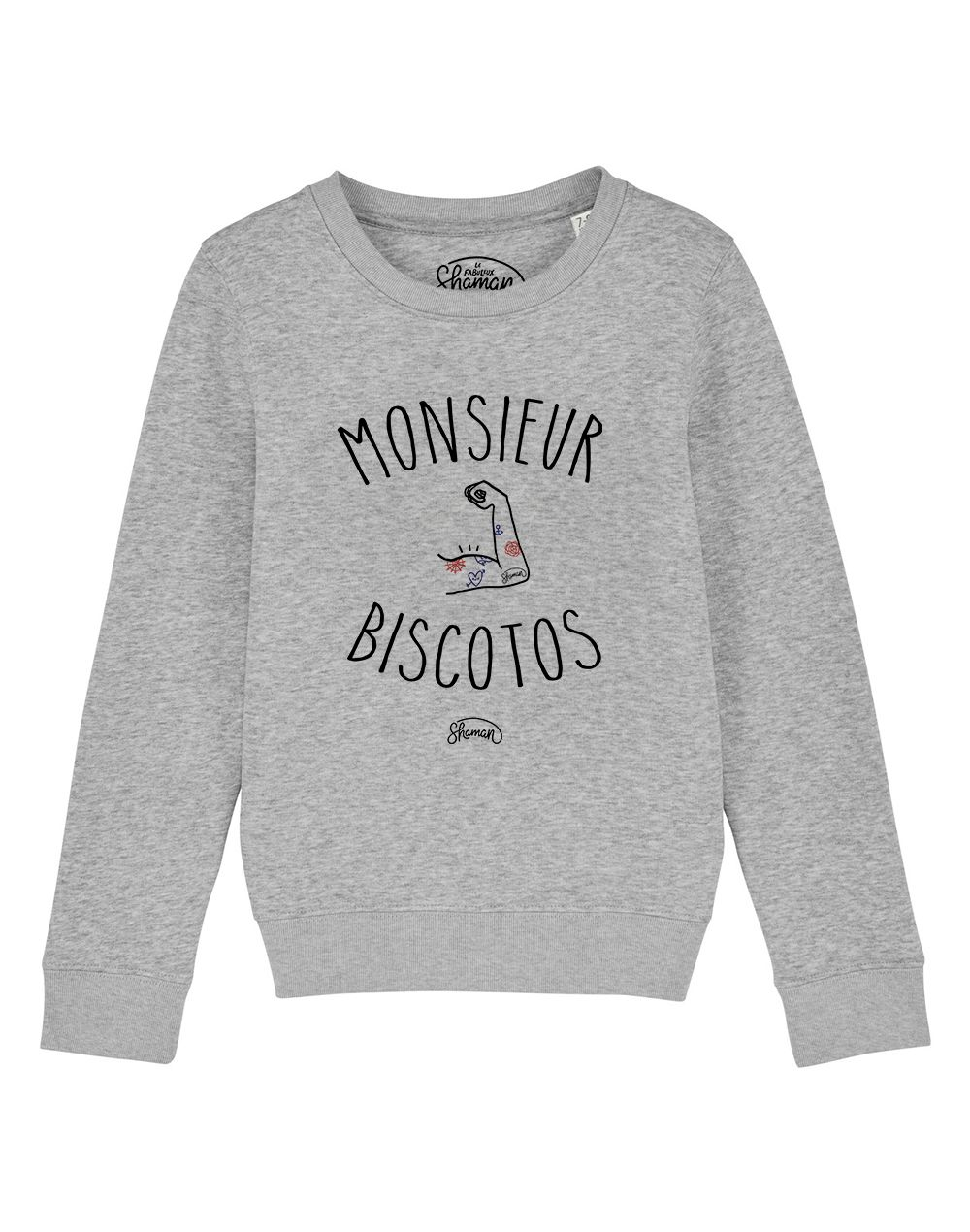 "Sweat ""Monsieur biscotos"""
