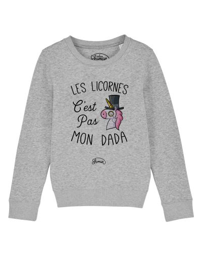 "Sweat ""Licorne dada"""