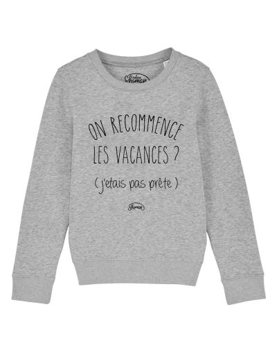 "Sweat ""On recommence"""