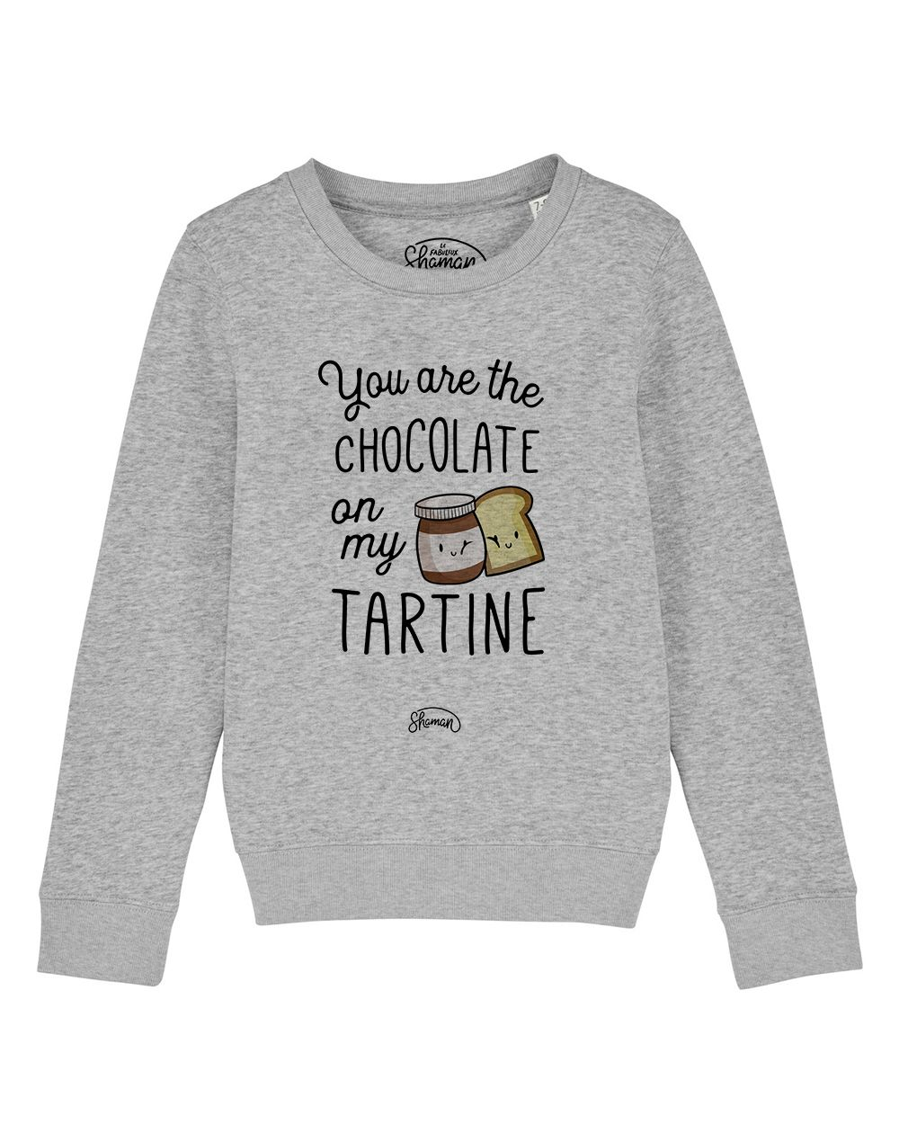 "Sweat ""Chocolate tartine"""