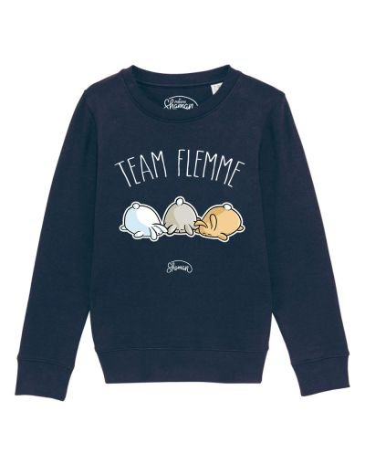 "Sweat ""Team flemme"""