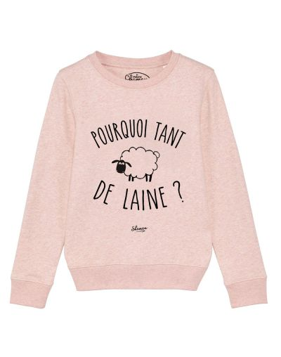 "sweat "" tant de laine"""