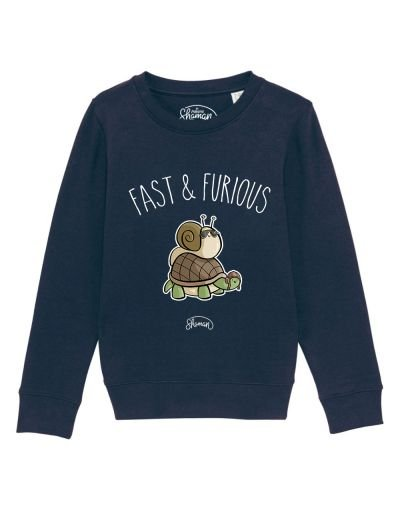 "Sweat ""Fast escargot"""