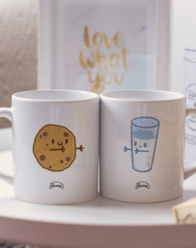 "Mugs duo ""Cookie - Lait"""
