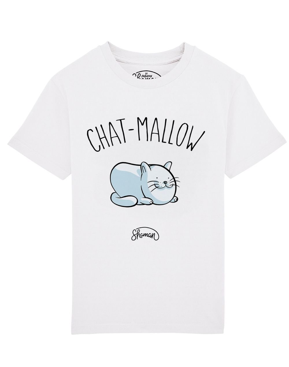 Tee shirt Chat mallow