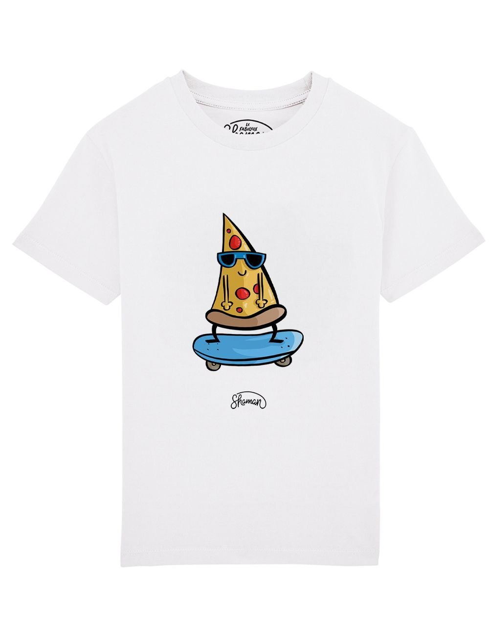 Tee shirt Pizza skate