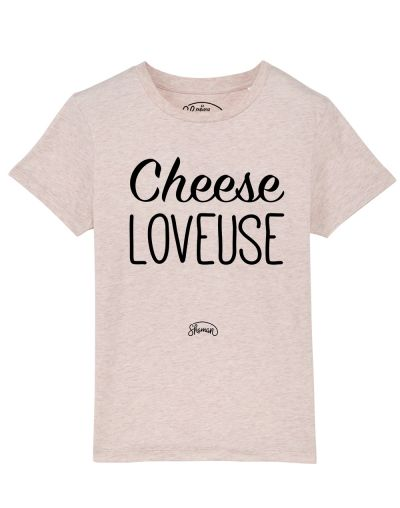 Tee shirt Cheese loveuse