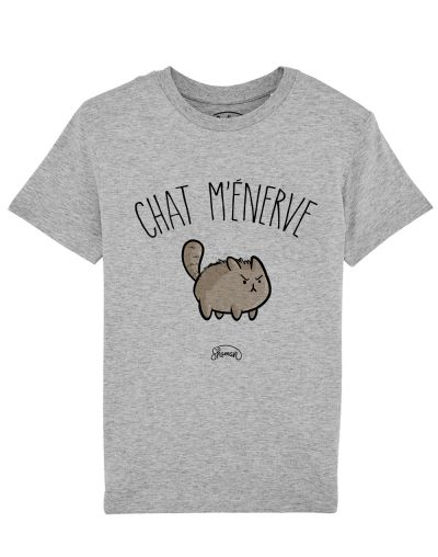 Tee shirt Chat m'énerve