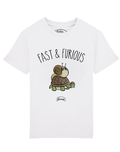 Tee shirt Fast escargot