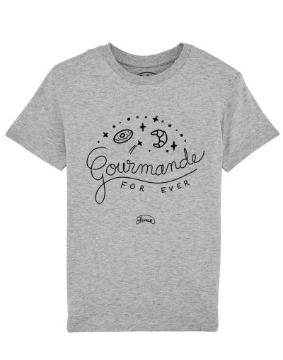 "Tee-shirt ""Gourmande"""