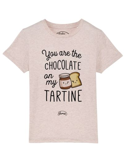 Tee-shirt Chocolate tartine