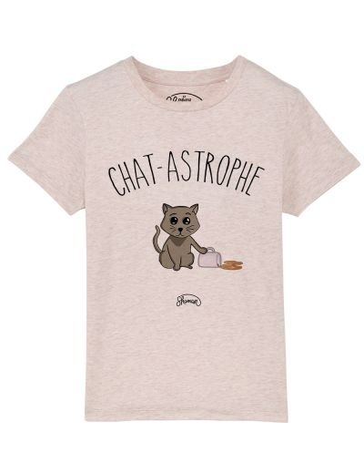 Tee-shirt Chat-astrophe