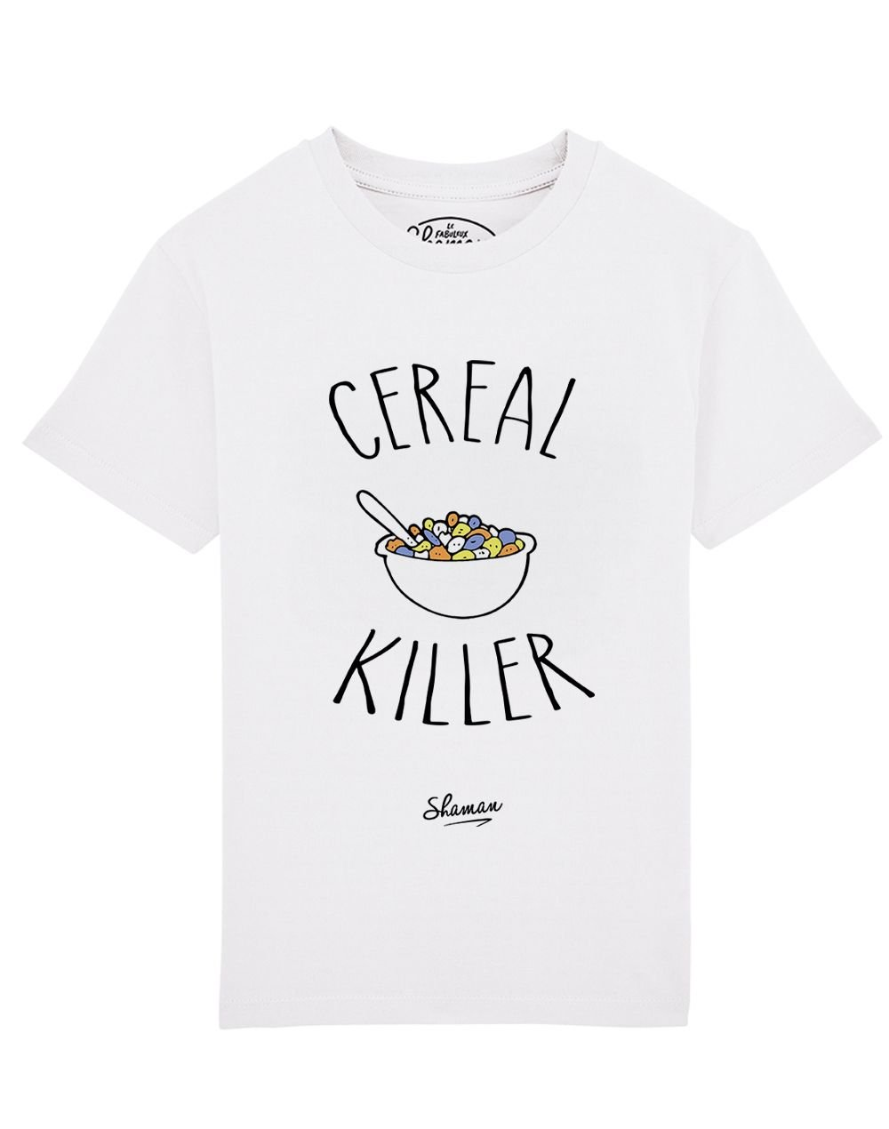 Tee-shirt cereal killer