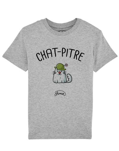 "Tee-shirt ""Chat-Pitre"""