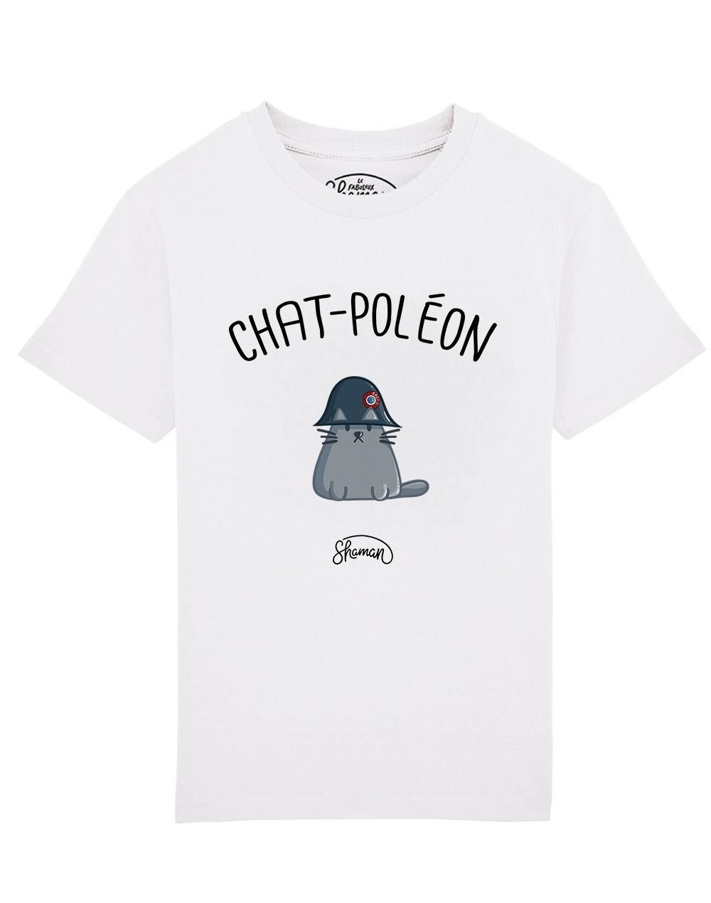 "Tee-shirt ""Chat-Poléon"""