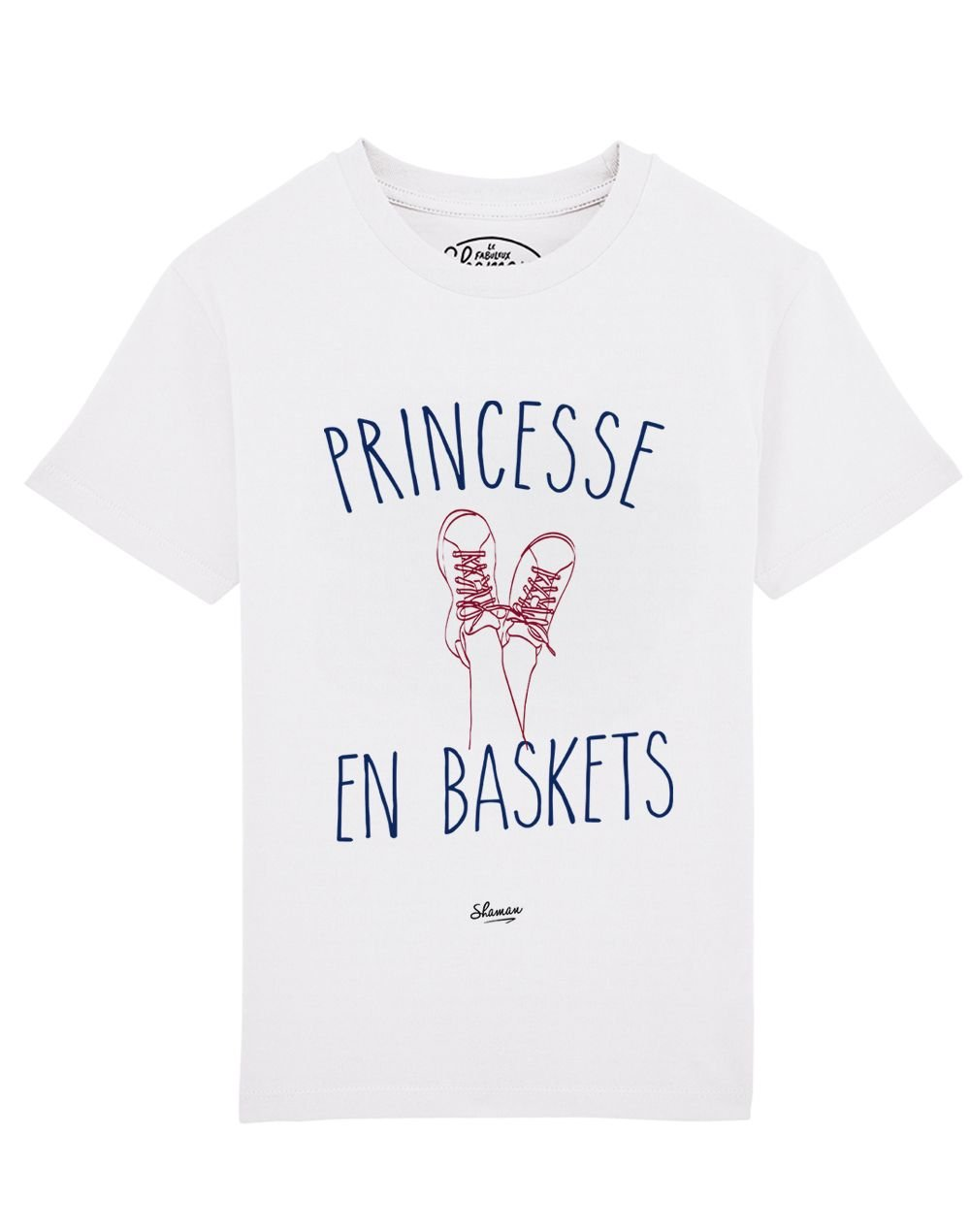 Tee-shirt princesse en baskets
