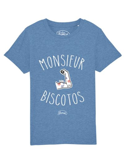 Tee-shirt Monsieur biscotos