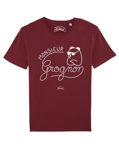 "Tee-shirt ""Monsieur Grognon"""