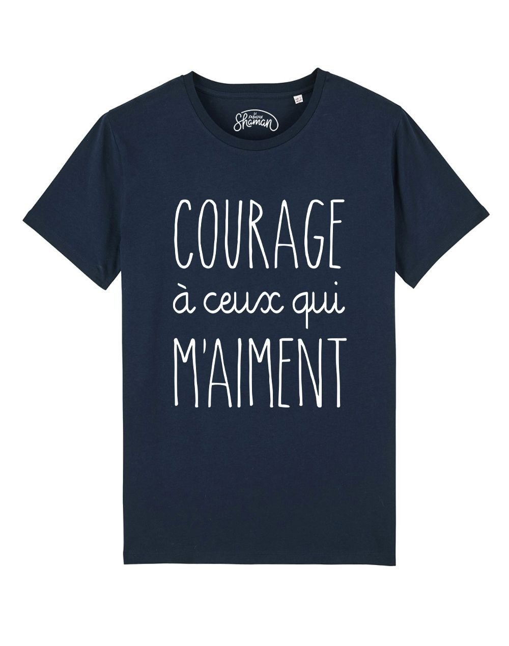 "Tee-shirt ""Courage"""