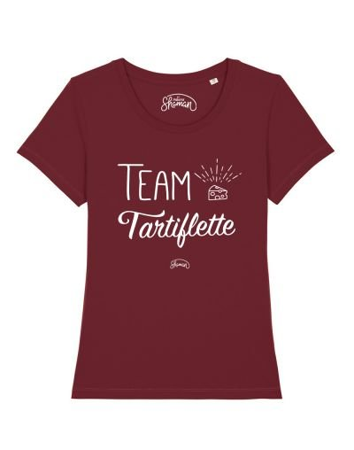 "T-shirt ""Team tartiflette"""