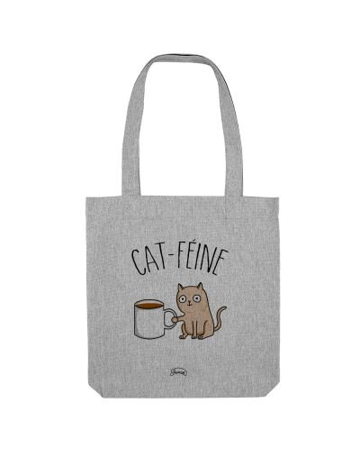 "Tote Bag ""Cat féine"""