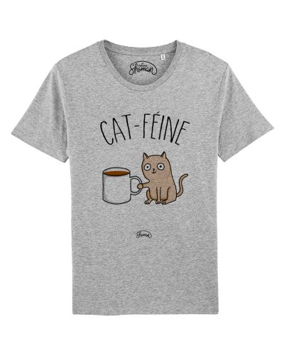 "Tee-shirt ""Cat féine"""