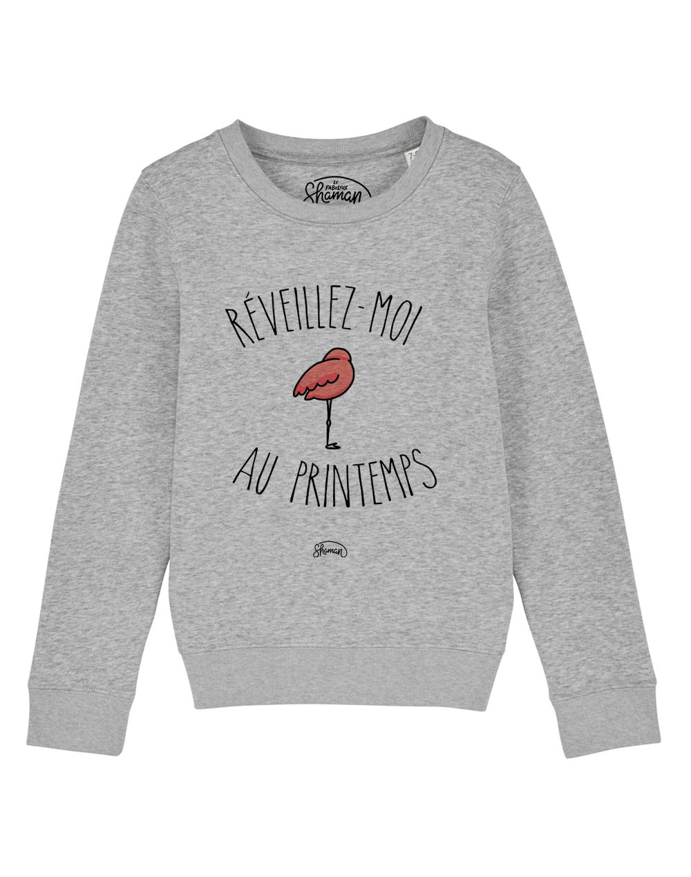 "Sweat ""Reveillez moi au printemps"""