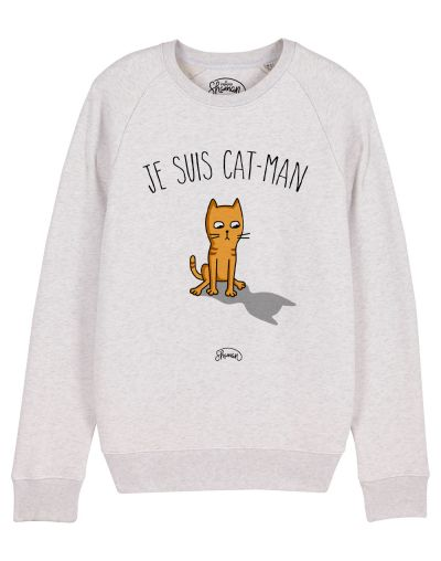 "Sweat ""Je suis catman"""