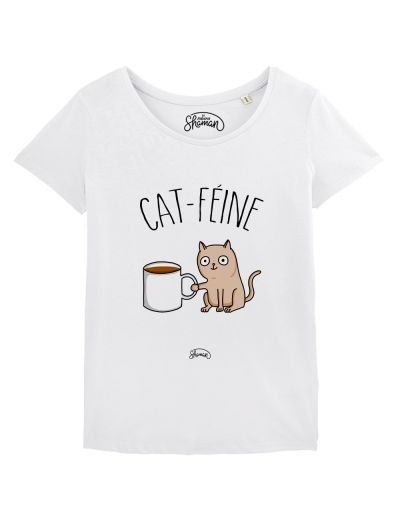 "T-shirt ""Cat féine"""