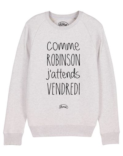 "Sweat ""J'attends Vendredi"""