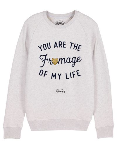 "Sweat ""Fromage life"""