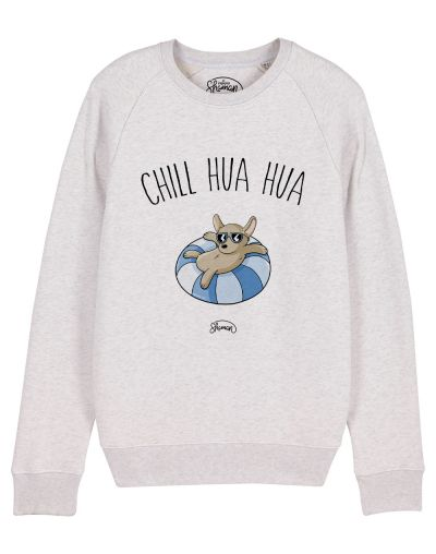 "Sweat ""Chill hua hua"""