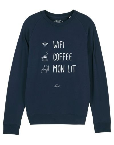 "Sweat ""Wifi coffee"""