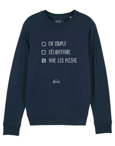 "Sweat ""Vive les pizzas"""