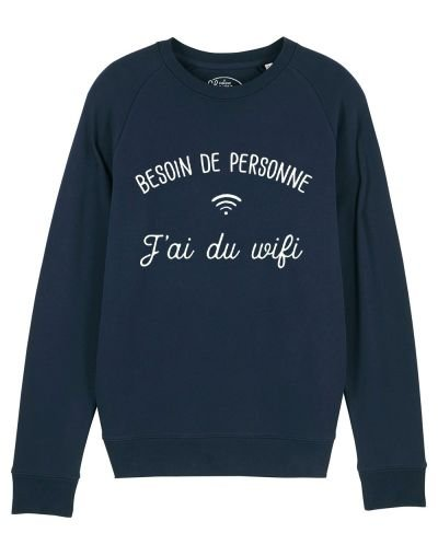 "Sweat ""J'ai du wifi"""