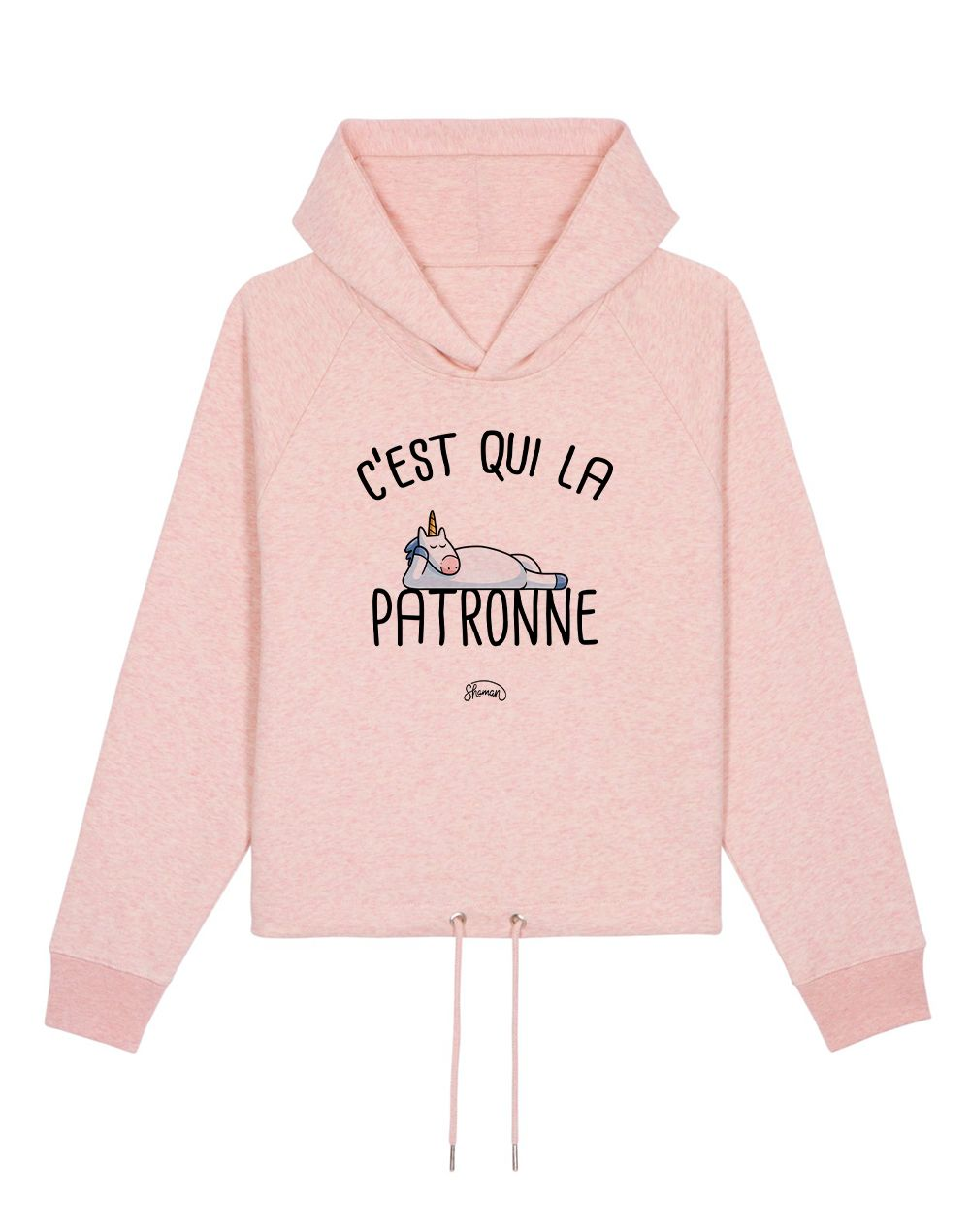"Sweat capuche ""La patronne"""