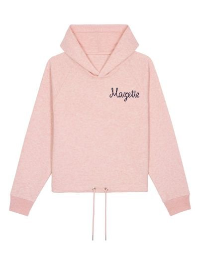"Sweat capuche ""Mazette"""