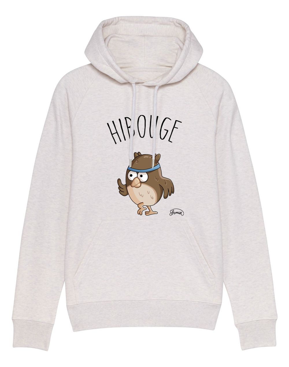 Sweat capuche Hibouge